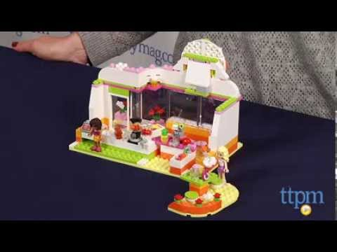 LEGO Friends Heartlake Juice Bar from LEGO - YouTube