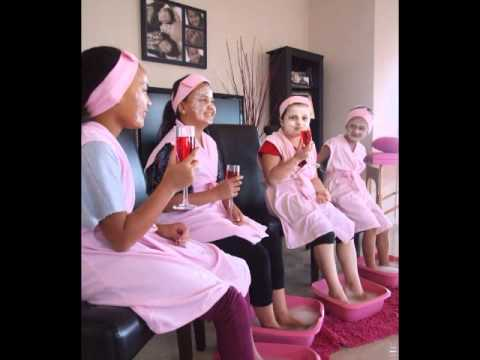 Little Princess Kids Pamper Parties Youtube