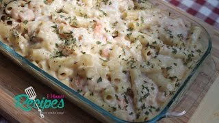 Seafood Baked Ziti - I Heart Recipes