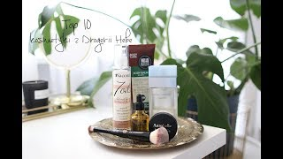 Top 10: kosmetyki z Drogerii Hebe I loveandgreatshoes