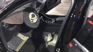 Kia K5 шумка пола (днища авто изнутри). Снижение шума от дорожного полотна, от ходовой