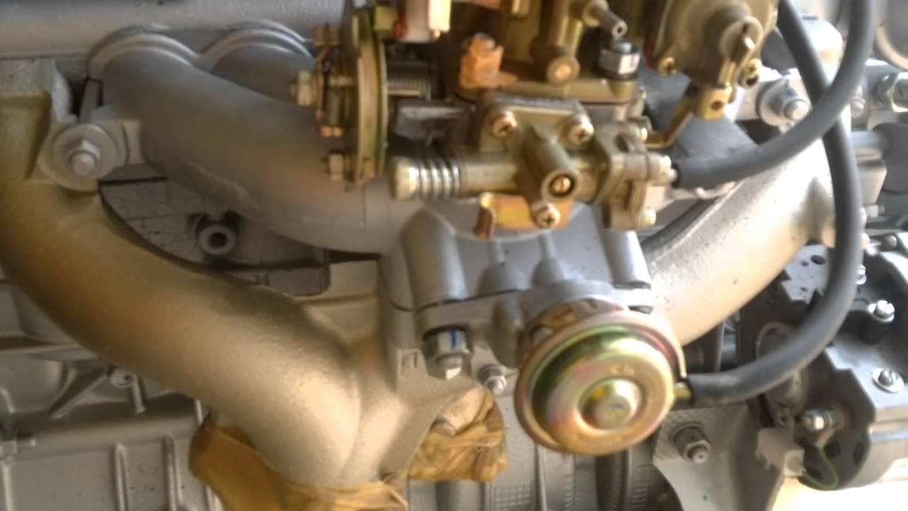 Как устранить течь крана масляного радитора ЗМЗ 406. - YouTube