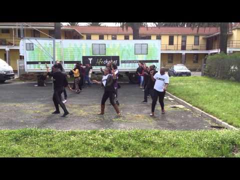 Bosco Arena Happy Dance aus Kapstadt Südafrika