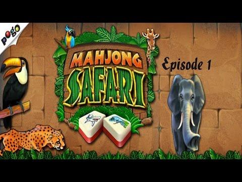 Pogo Games ~ Mahjong Safari - Episode 1 - Hard Difficulty #1