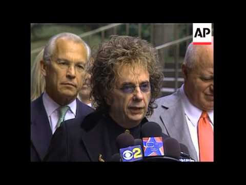Record producer Phil Spector indicted for murder