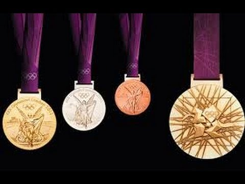 World distribution of Olympic medals London 2012 [IGEO.TV]