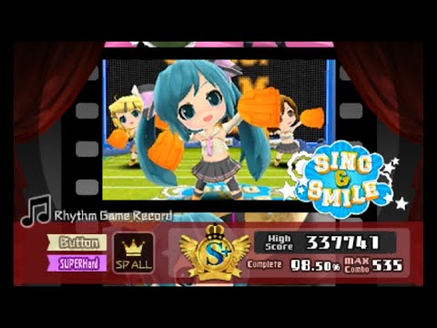Sing and Smile (SUPER HARD) [Button Mode] Perfect | Hatsune Miku Project Mirai DX~