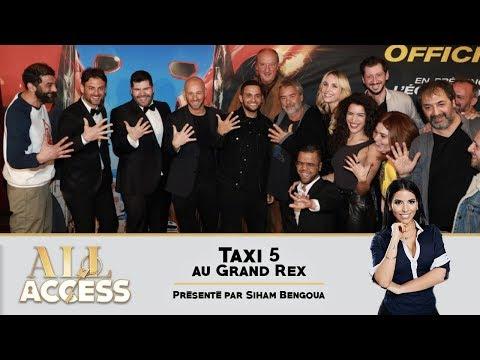 TAXI 5 : avant-première au Grand Rex -  All Access
