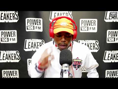 Boogie Freestyles Over Lil Pump - Gucci Gang beat At L.A. Leakers