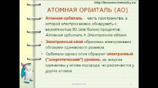 Подготовка к ЕГЭ по химии 2013.Видеразбор задания А1.