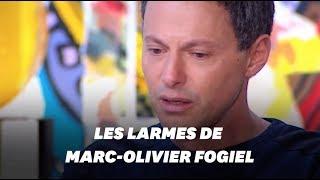 Marc-Olivier Fogiel très ému en parlant du tsunami de 2004 dont il a réchappé