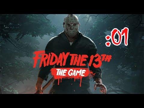 人間 VS 殺人鬼 Friday the 13th The Game【13日の金曜日】:01