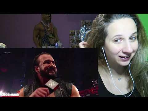 Drew McIntyre Challenges Brock Lesnar!! 1/27/20