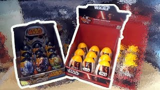 Star Wars 18 Darth Vader Kylo Ren Stormtrooper Kinder Surprise Eggs thumbnail