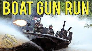 Special Forces Boat Gun Run | Classic Army Micro Gun