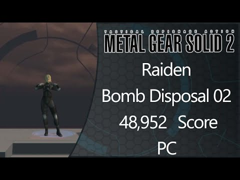 *WR* MGS2: Substance | PC | Raiden | Bomb Disposal | Level 02 | 21.64 IGT | 48952 Score