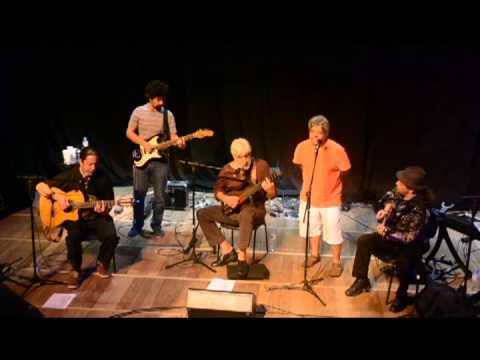 Geraldo Azevedo em participação no show de Renato Rocha