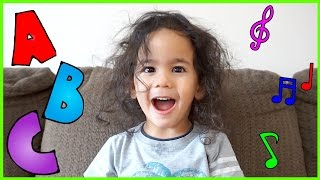 2 Year Old Singing ABC's | Learn ABC's | ABC Song