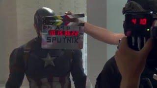 Как снимали Первый мститель: Противостояние How made Captain America Civil War Marvel HD