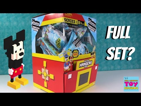 Disney Crossy Road Mystery Backpack Hangers Series 1 Blind Bag Toy Opening | PSToyReviews