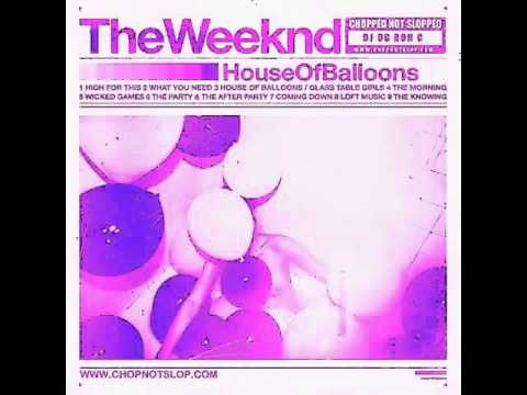 the weeknd - house of balloons / glass table girls (chopped up not slopped up)