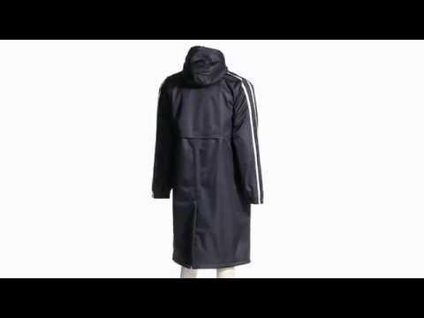 Sporti Striped Comfort Fleece-Lined Swim Parka | SwimOutlet.com ...