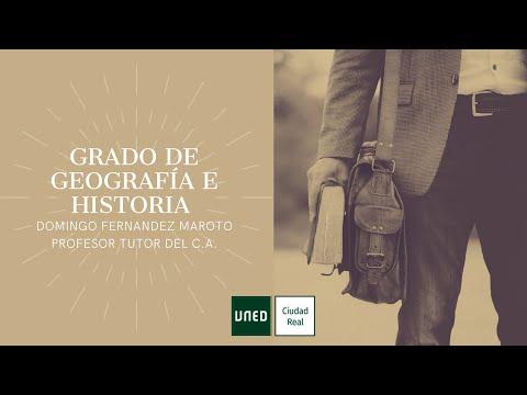GRADO DE GEOGRAFÍA E HISTORIA (Domingo Fernández Maroto)