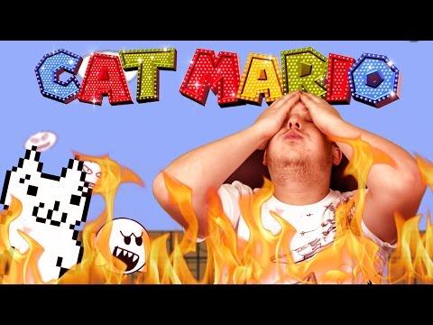 NEM AKAROK ERRŐL BESZÉLNI!!!!! :@ | Cat Mario 4 - TheVR RAGE