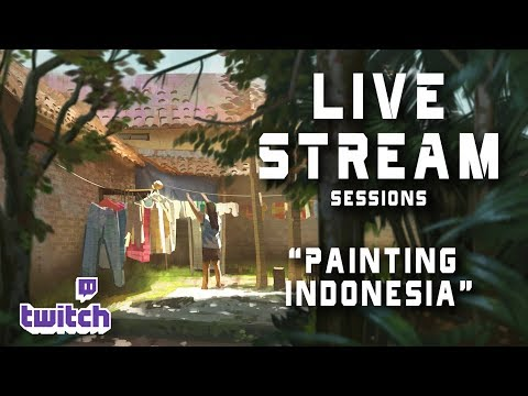 Live Stream 37- Painting Indonesia