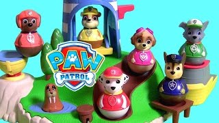 Learn Colors PLAY DOH Paw Patrol Puppies Surprise Skye