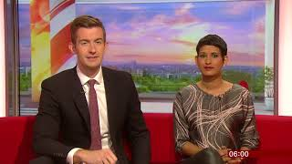 BBC Breakfast Opening 6th May 2018