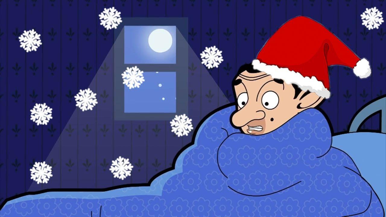 Mr Bean In The Snow u0026 Cold  Mr Bean Cartoon World