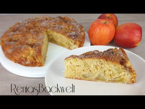 Viel Frucht wenig Teig, Apfelkuchen super lecker🍎😋