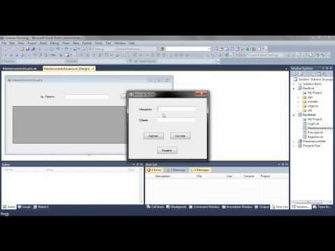 VB.net - Sistema de usuarios (Web .aspx)+ Aplicación en Escritorio PARTE 10/10