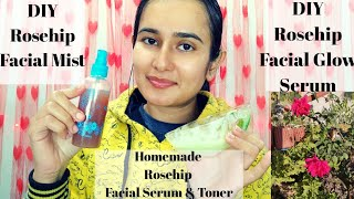 DIY Rosehip Face Glow Serum | DIY Rosehip Facial Mist | SWATI BHAMBRA
