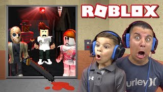 Headed To The 100th Floor In THE NORMAL ELEVATOR | ROBLOX