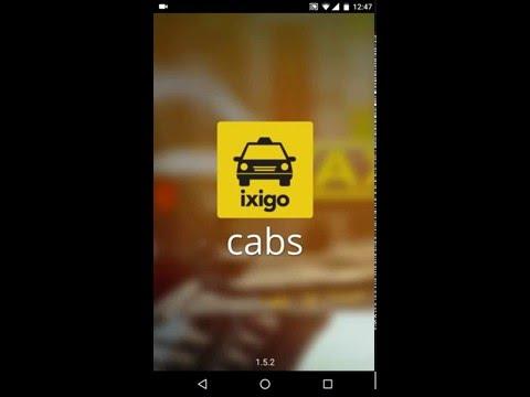 ixigo cabs app - 1-tap booking