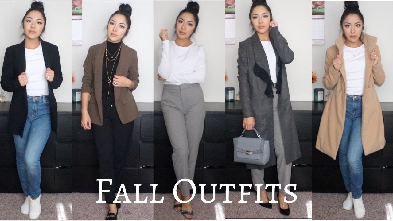 [VIDEO] - 10 CHIC FALL OUTFITS 1