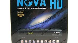 видео Обзор спутникового ресивера NOVA HD