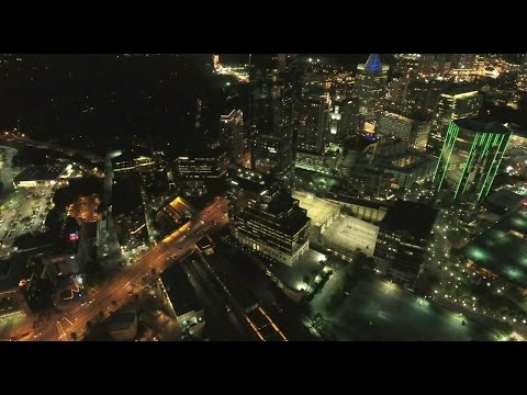10-Mile UAV/Drone Flight Across Atlanta (Skylines of Buckhead to Downtown) (Time-lapse at 300mph)