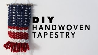 DIY Handwoven Tapestry