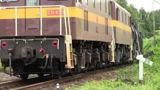 三岐鉄道三岐線3713列車(富田~東藤原)ED45-9+ED45-8