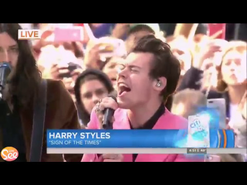 Sign Of The Times - Harry Styles - LIVE on The Today Show