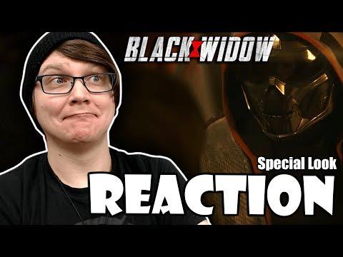BLACK WIDOW - Special Look Trailer Reaction!