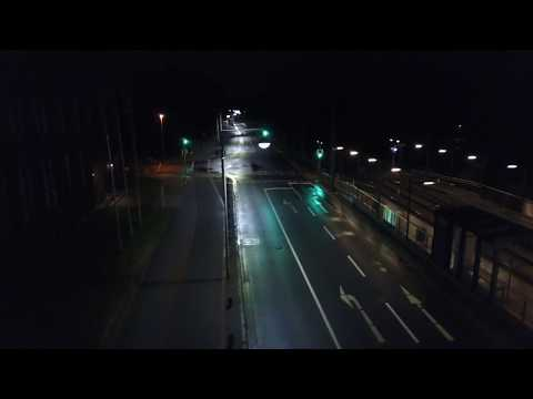 Hanover nightflight with DJI Mavic