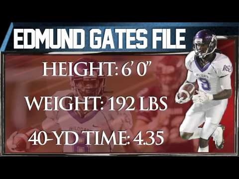 Edmund Gates Draft Profile