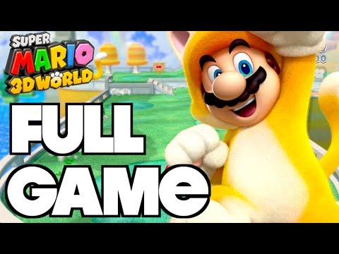 Super Mario 3D World - Complete Gameplay Walkthrough