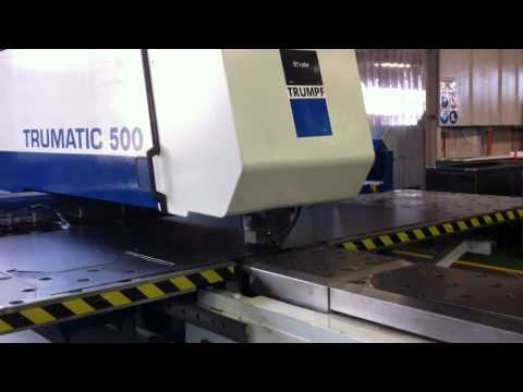 Radan running Trumpf Trumatic 500 at customer site.MOV