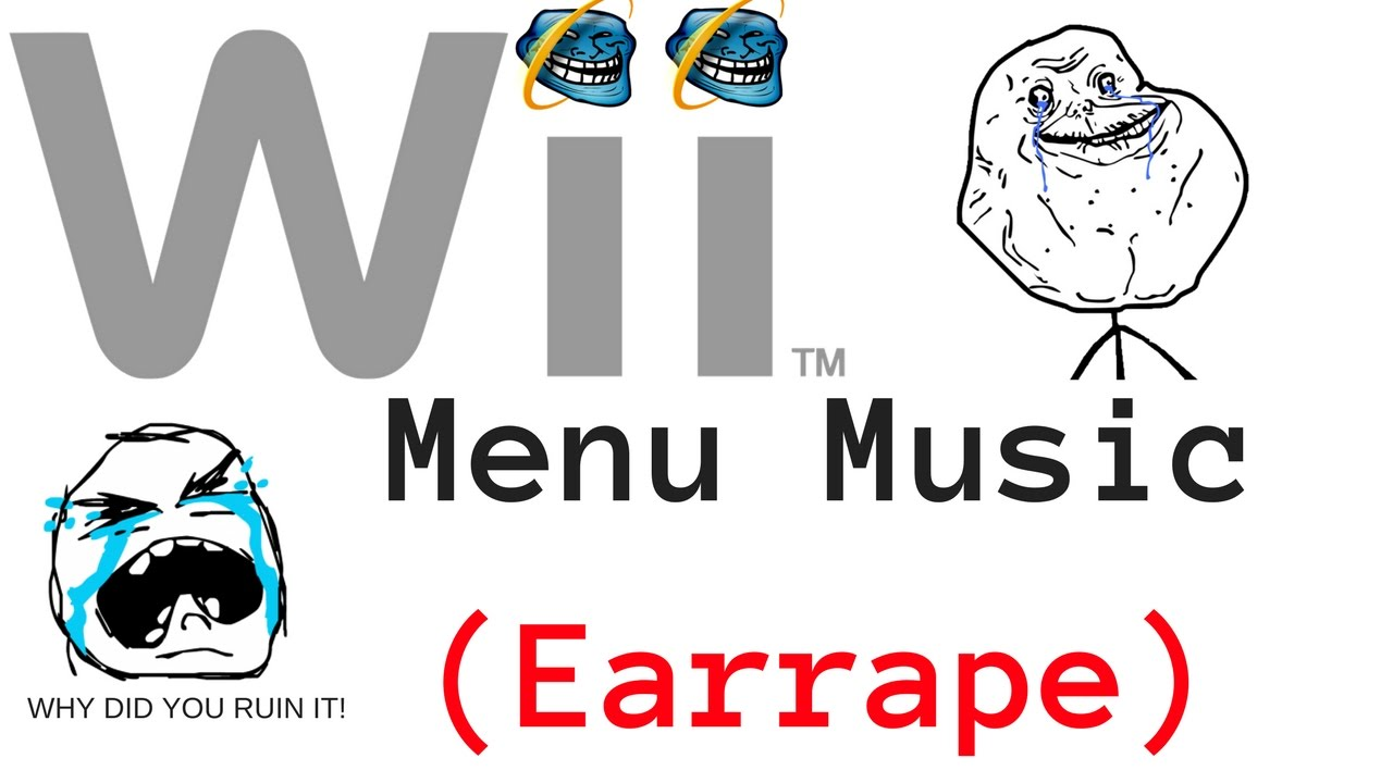 Nintendo Wii - Wii Menu Theme (Earrape)