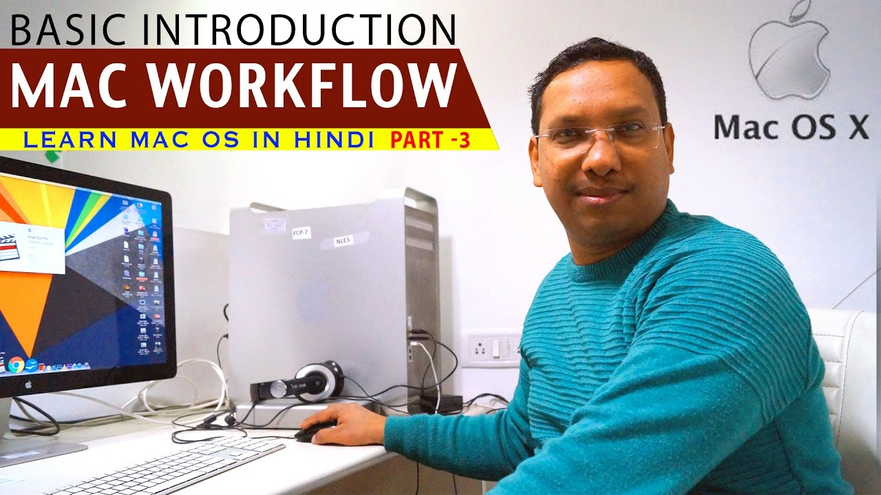 BASIC TRAINING FOR MACINTOSH OS | APPLE COMPUTER WORKFLOW | PART 3 ...
